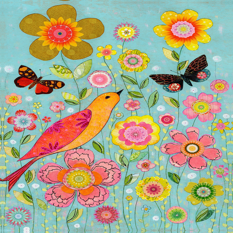DiaNoche Designs Artist | Sascalia - Flower Meadow