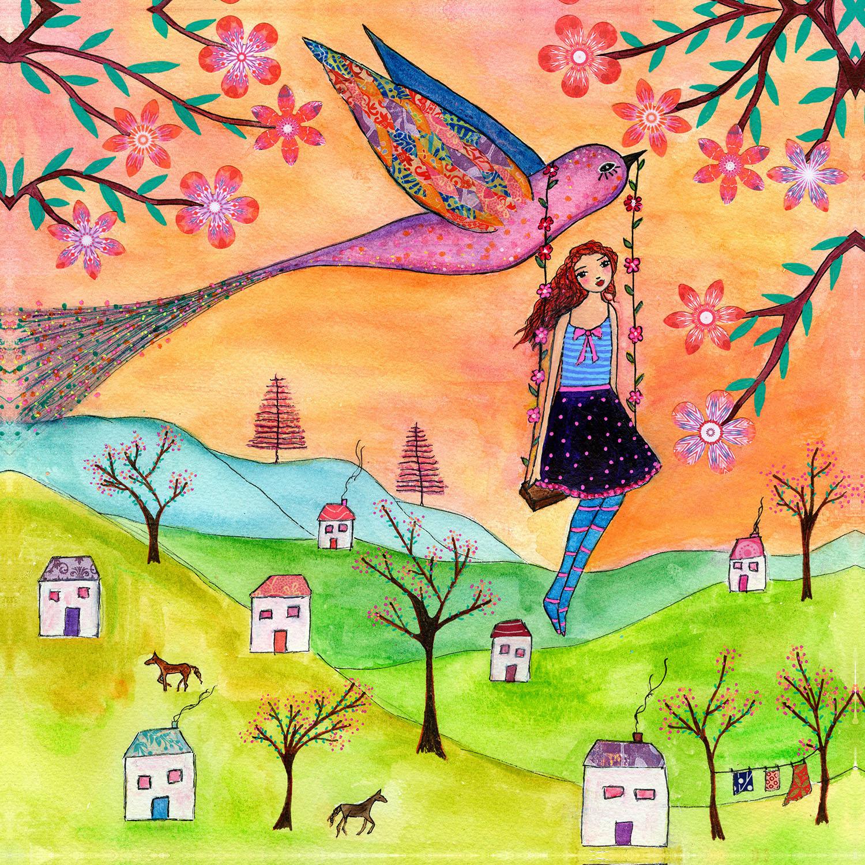 DiaNoche Designs Artist | Sascalia - Fly Me Home
