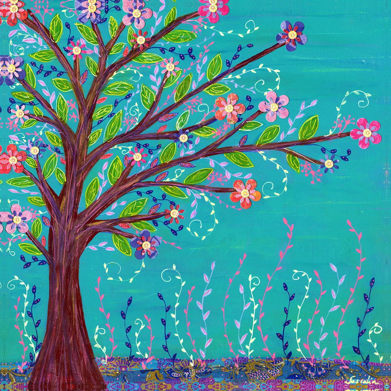 DiaNoche Designs Artist | Sascalia - Happy Tree