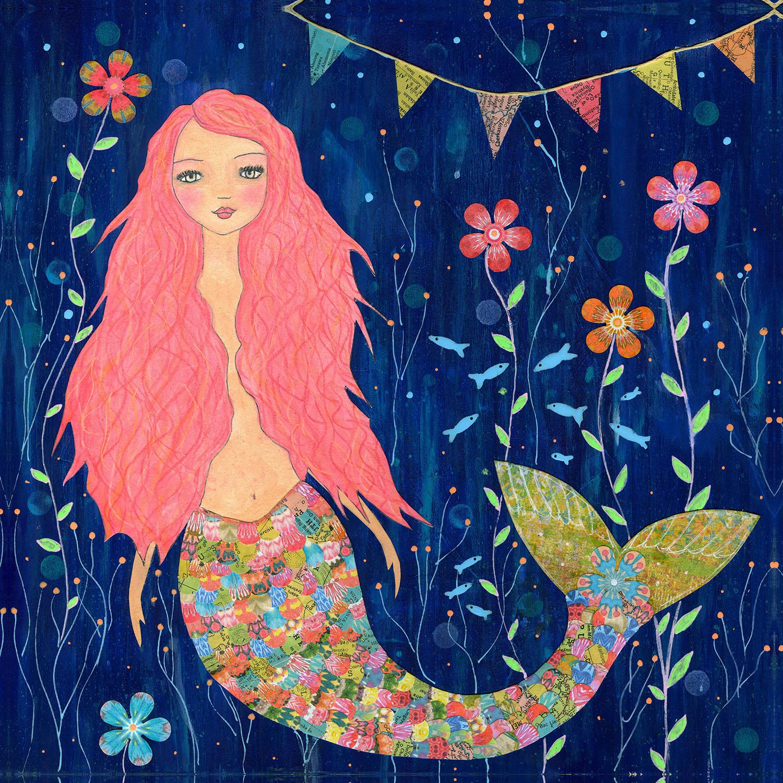 DiaNoche Designs Artist | Sascalia - Pink Mermaid