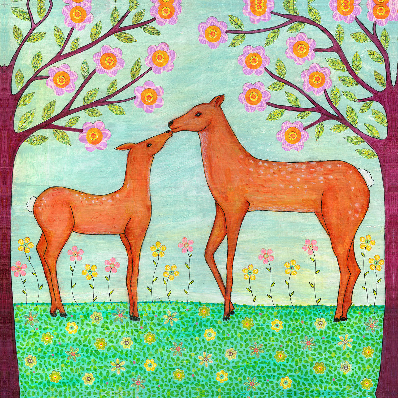DiaNoche Designs Artist | Sascalia - Woodland Deer