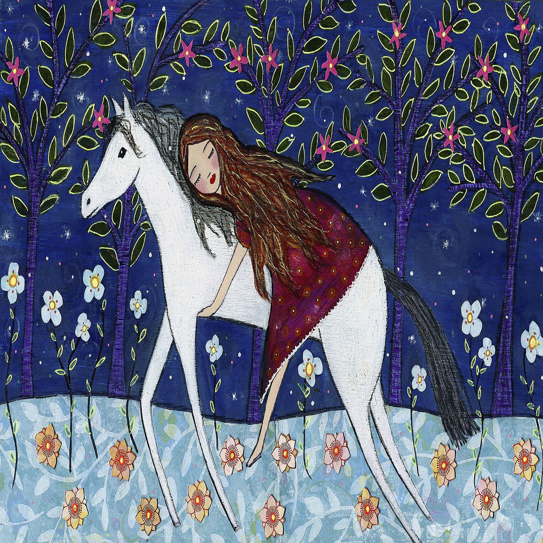 DiaNoche Designs Artist | Sascalia - Horse Dreamer