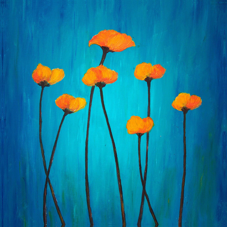 DiaNoche Designs Artist   Tara Viswanathan - Eternal Poppies