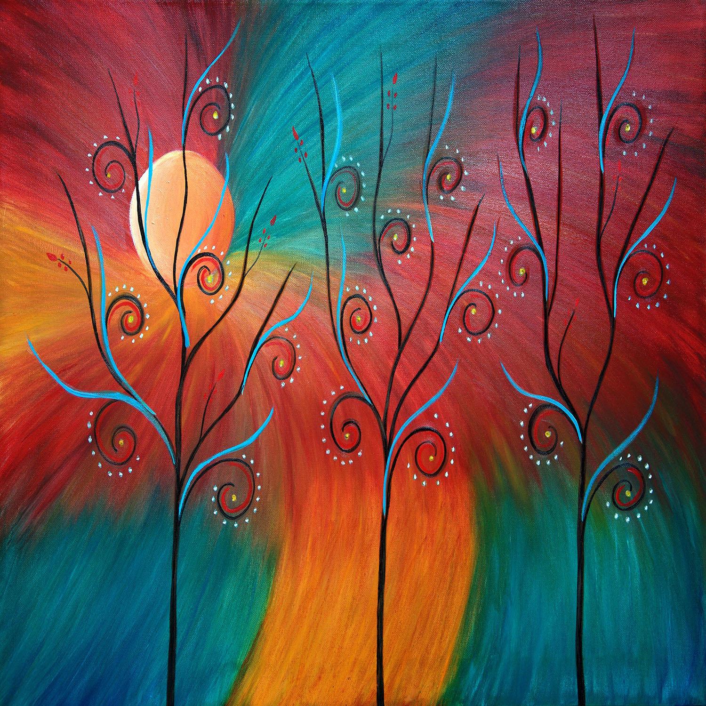 DiaNoche Designs Artist | Tara Viswanathan - Peacock Inspiration II