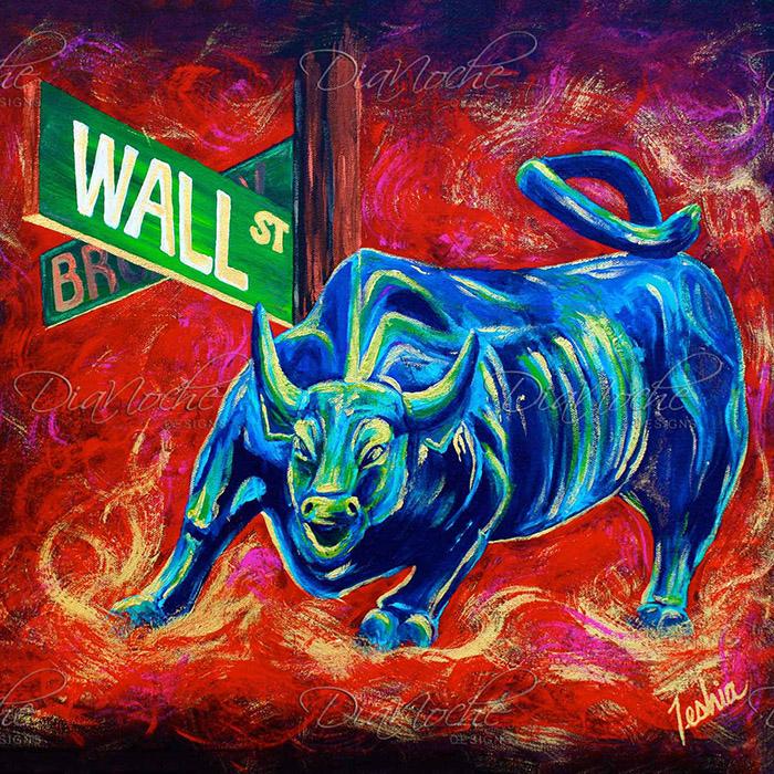 DiaNoche Designs Artist | Teshia - Bull Market