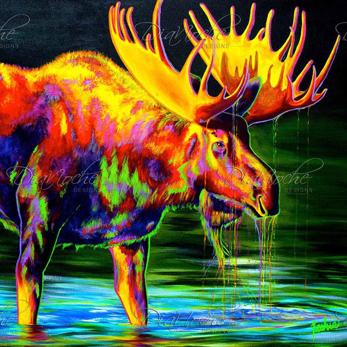 DiaNoche Designs Artist | Teshia - Motley Moose
