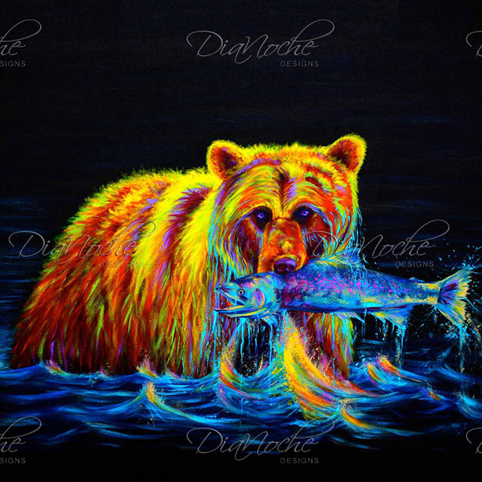 DiaNoche Designs Artist | Teshia - Night of the Grizzly