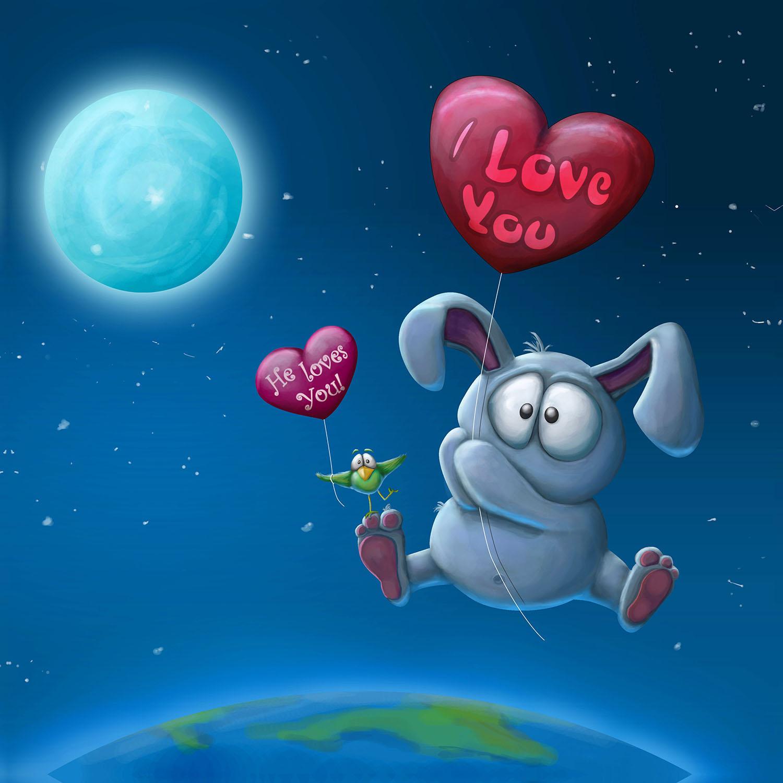 DiaNoche Designs Artist | Tooshtoosh - Balloon Bunny