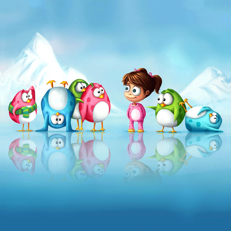 DiaNoche Designs Artist | Tooshtoosh - Im a Penguin Too!