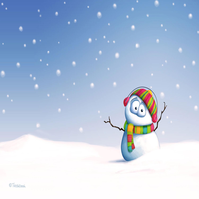 DiaNoche Designs Artist | Tooshtoosh - Snowman