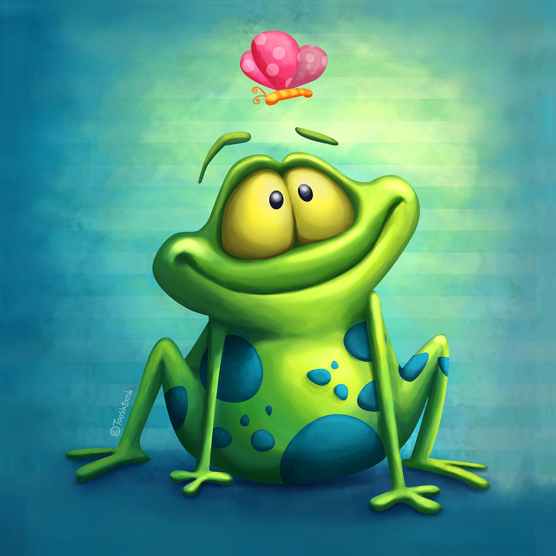 DiaNoche Designs Artist | Tooshtoosh - The Frog II