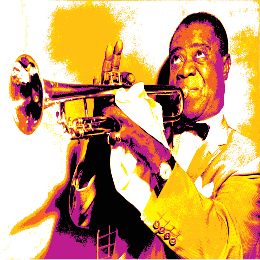 DiaNoche Designs Artist | Ty Jeter - Louis Armstrong