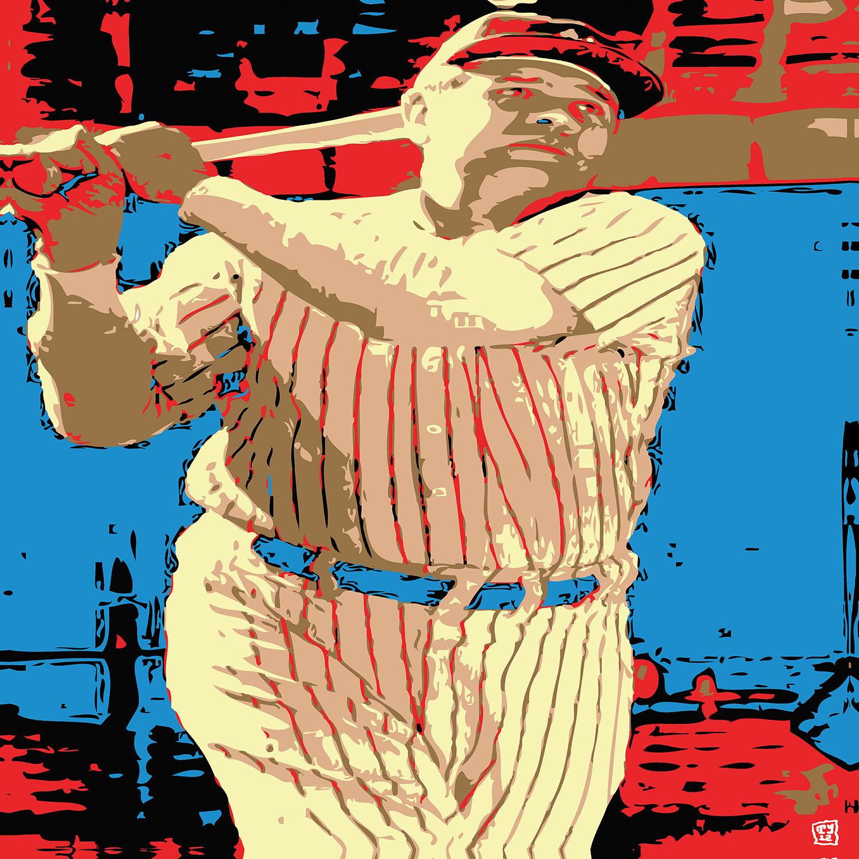 DiaNoche Designs Artist | Ty Jeter - Babe Ruth