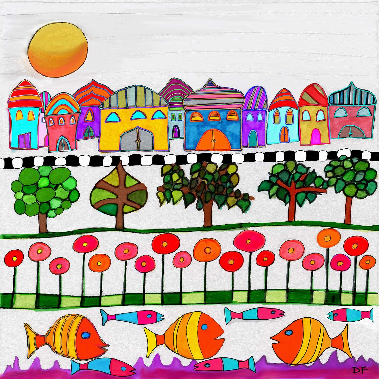 DiaNoche Designs Artist Dora Ficher