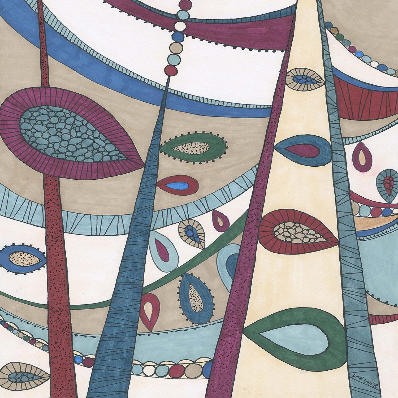 DiaNoche Designs Artist Valerie Lorimer