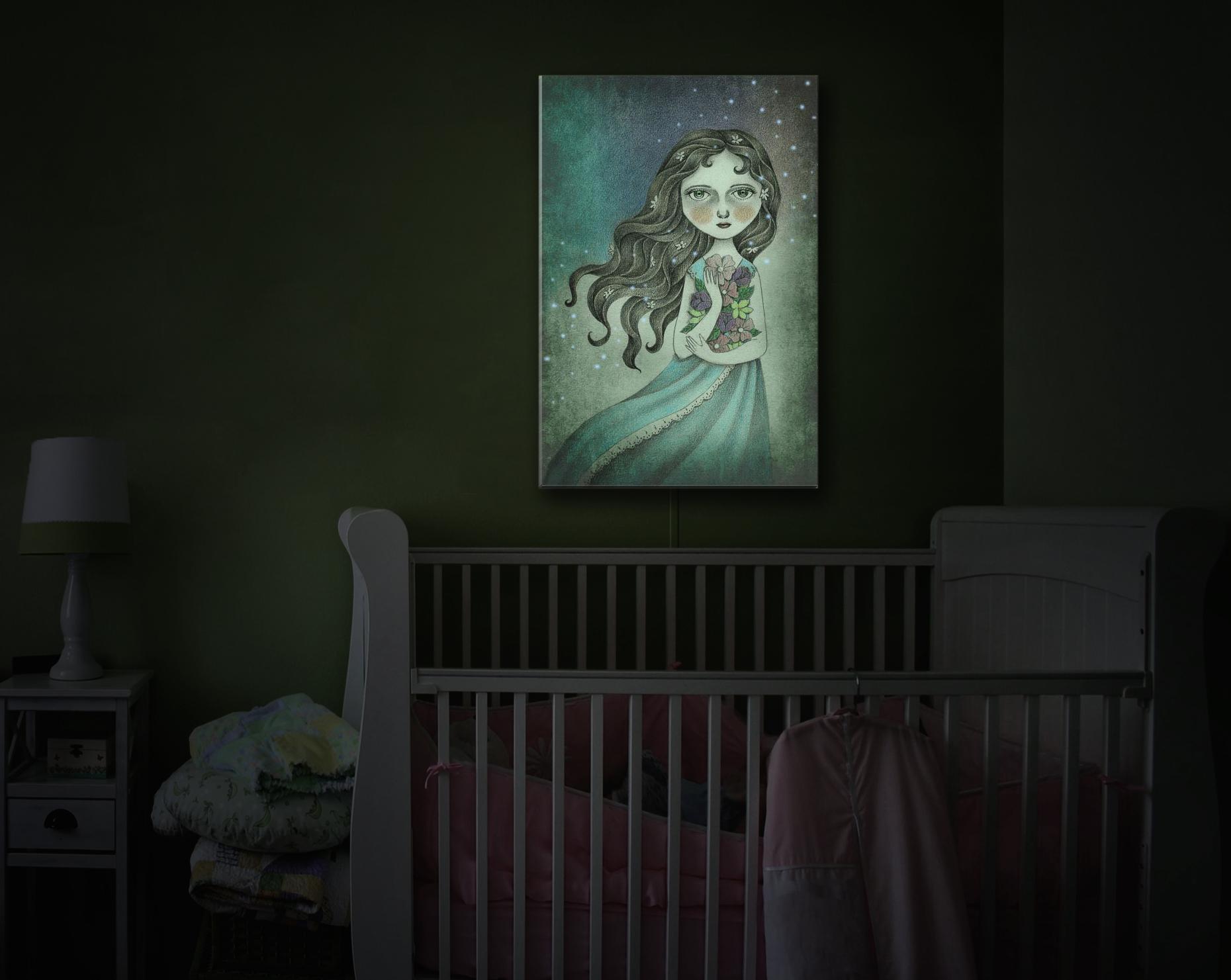 Illuminated Art featured on Houzz