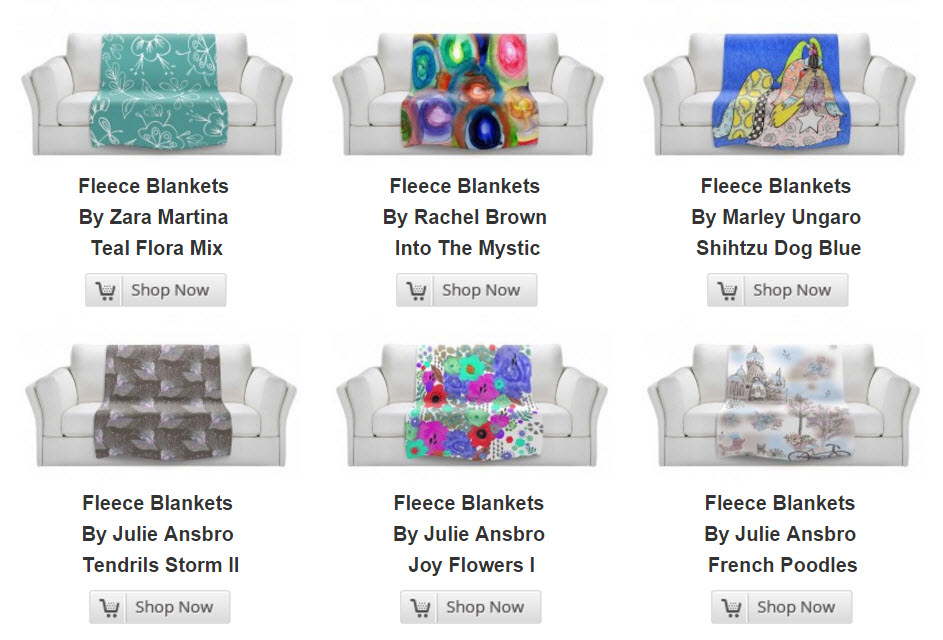 Fleece Blankets Home Decor