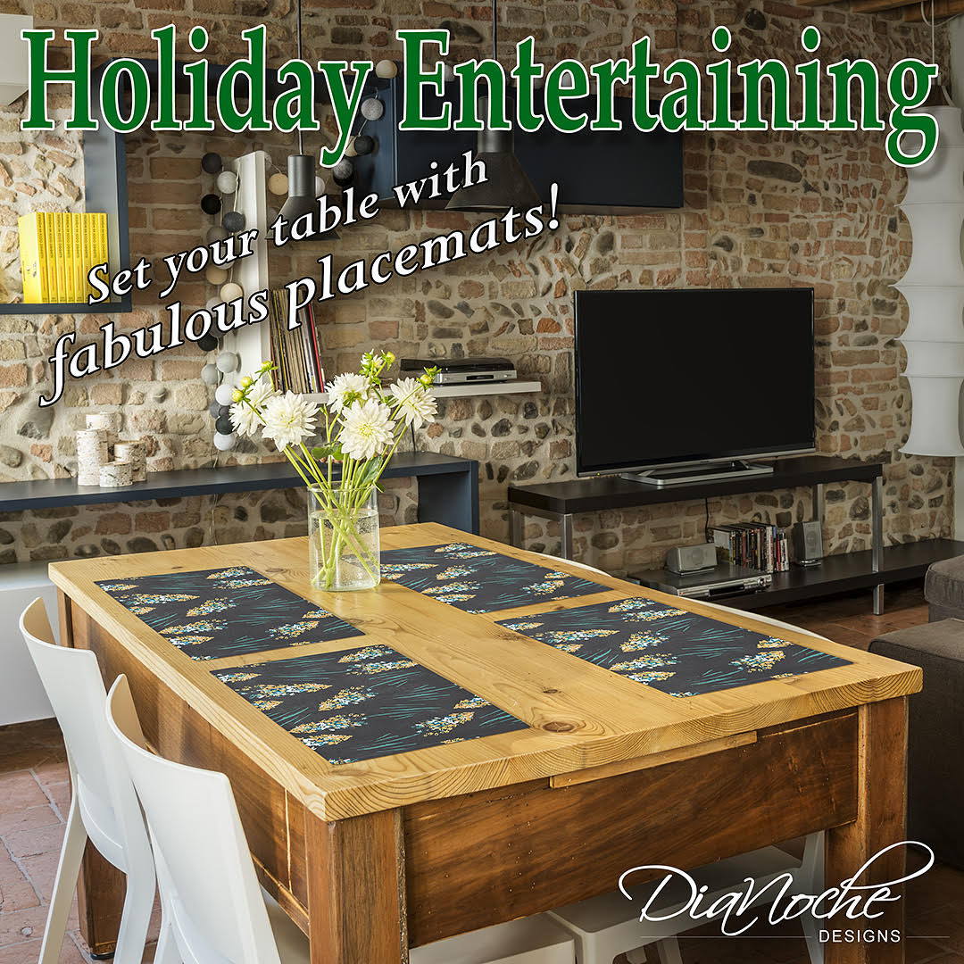 Holiday Entertaining: Set the Table with Fabulous Place Mats