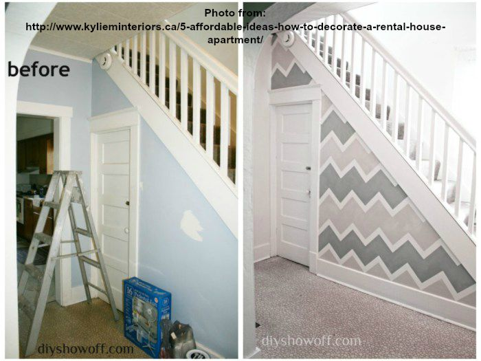 use paint to recreate your space