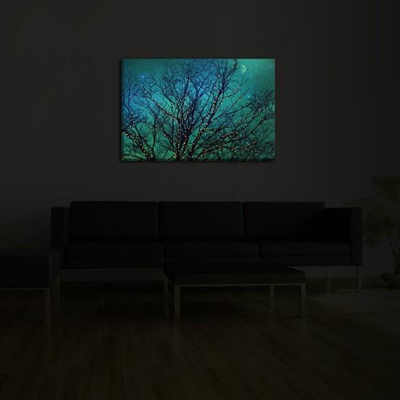 Illuminated Wall Art Dark