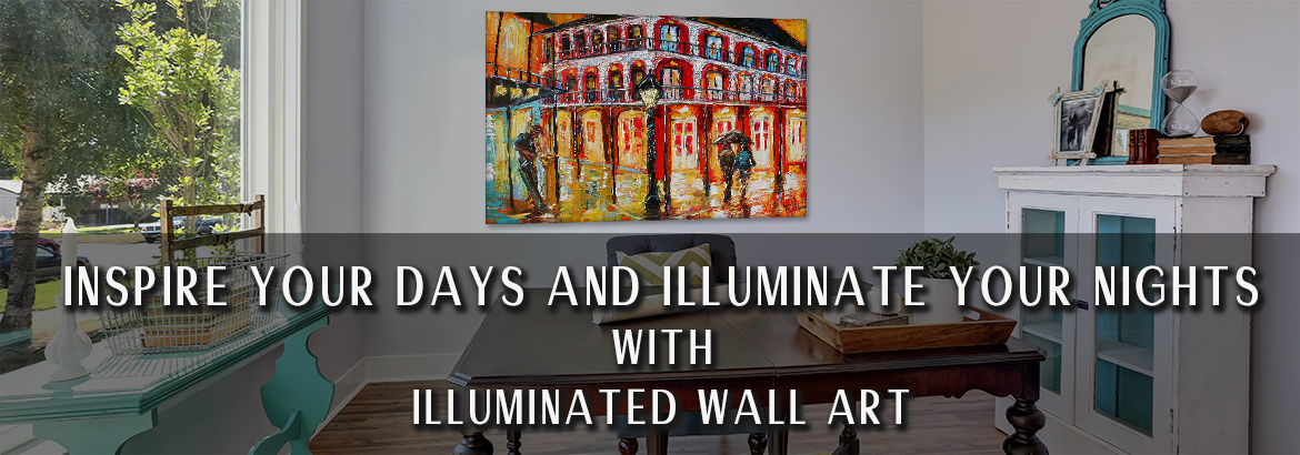 Illuminated Wall Art Light