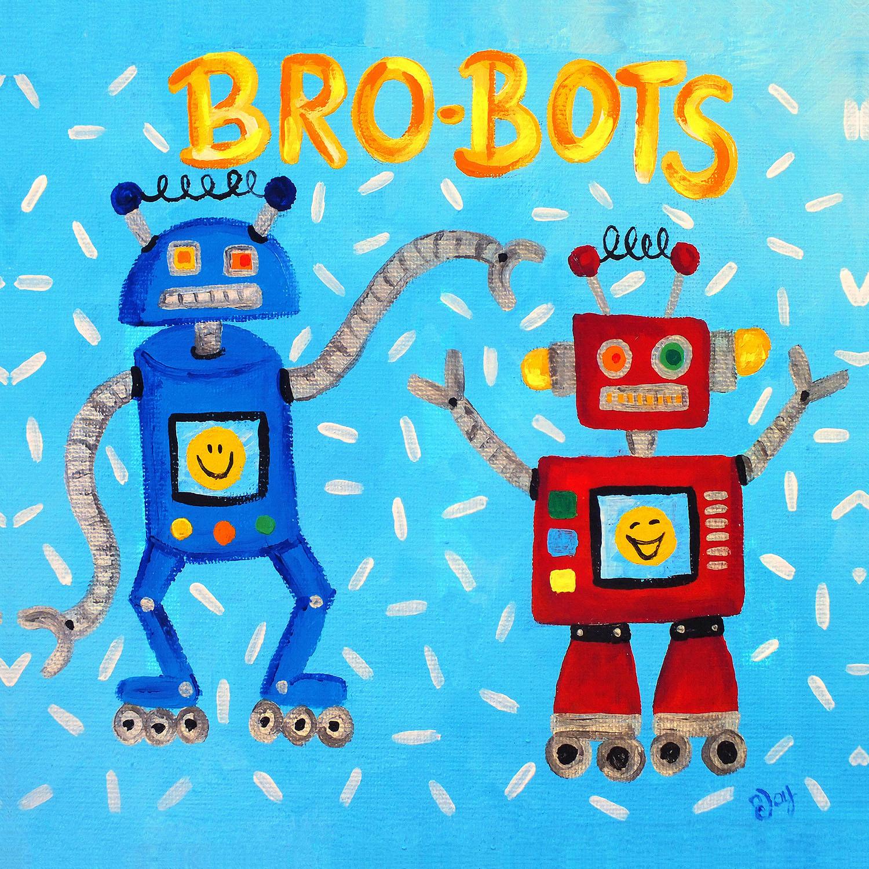 DiaNoche Designs Artist   nJoy Art - Brobots
