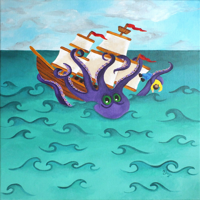 DiaNoche Designs Artist   nJoy Art - Kraken