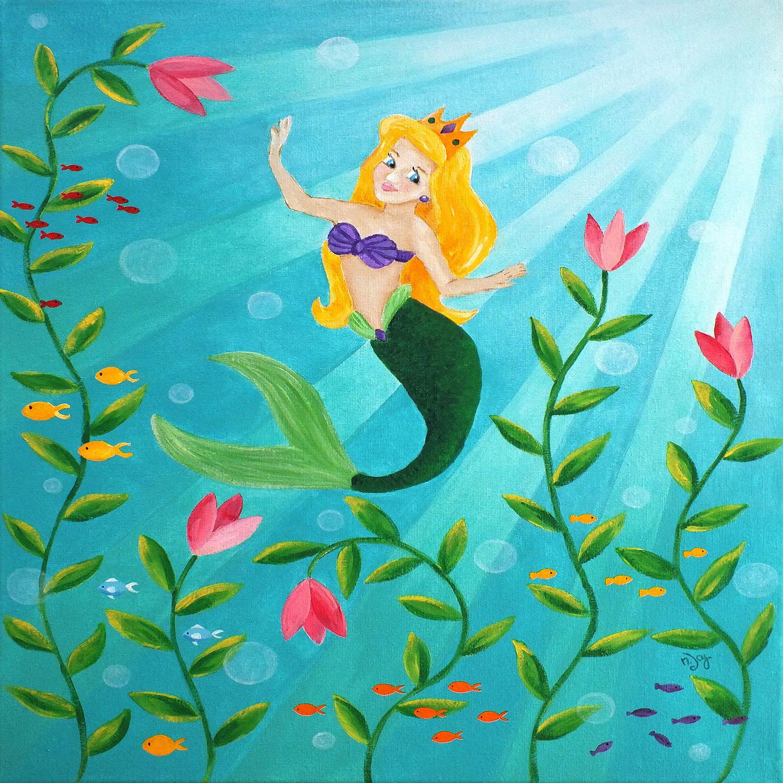 DiaNoche Designs Artist   nJoy Art - Mermaid