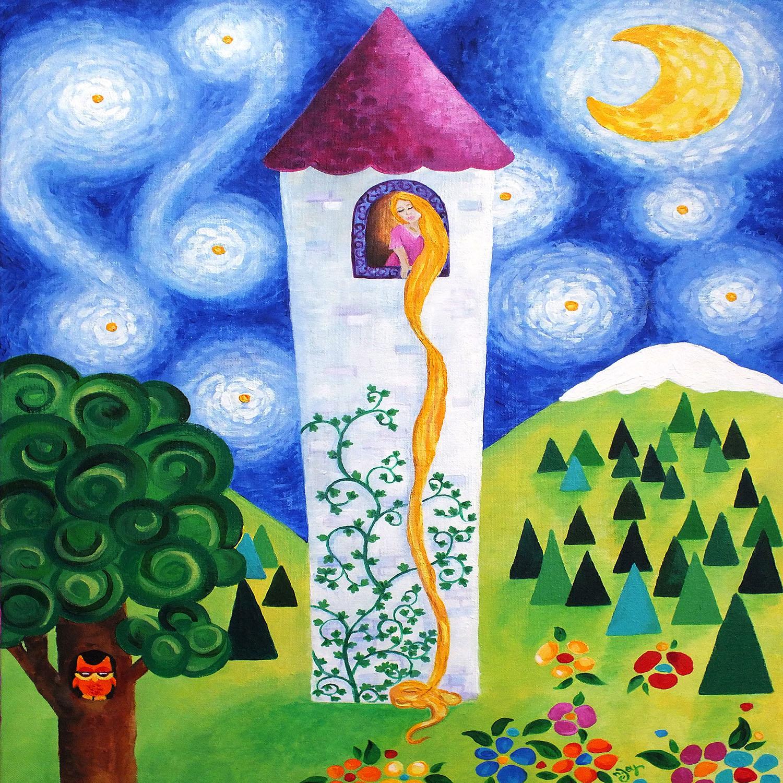 DiaNoche Designs Artist   nJoy Art - Rapunzels Tower