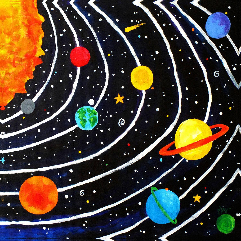 DiaNoche Designs Artist   nJoy Art - Solar System IV