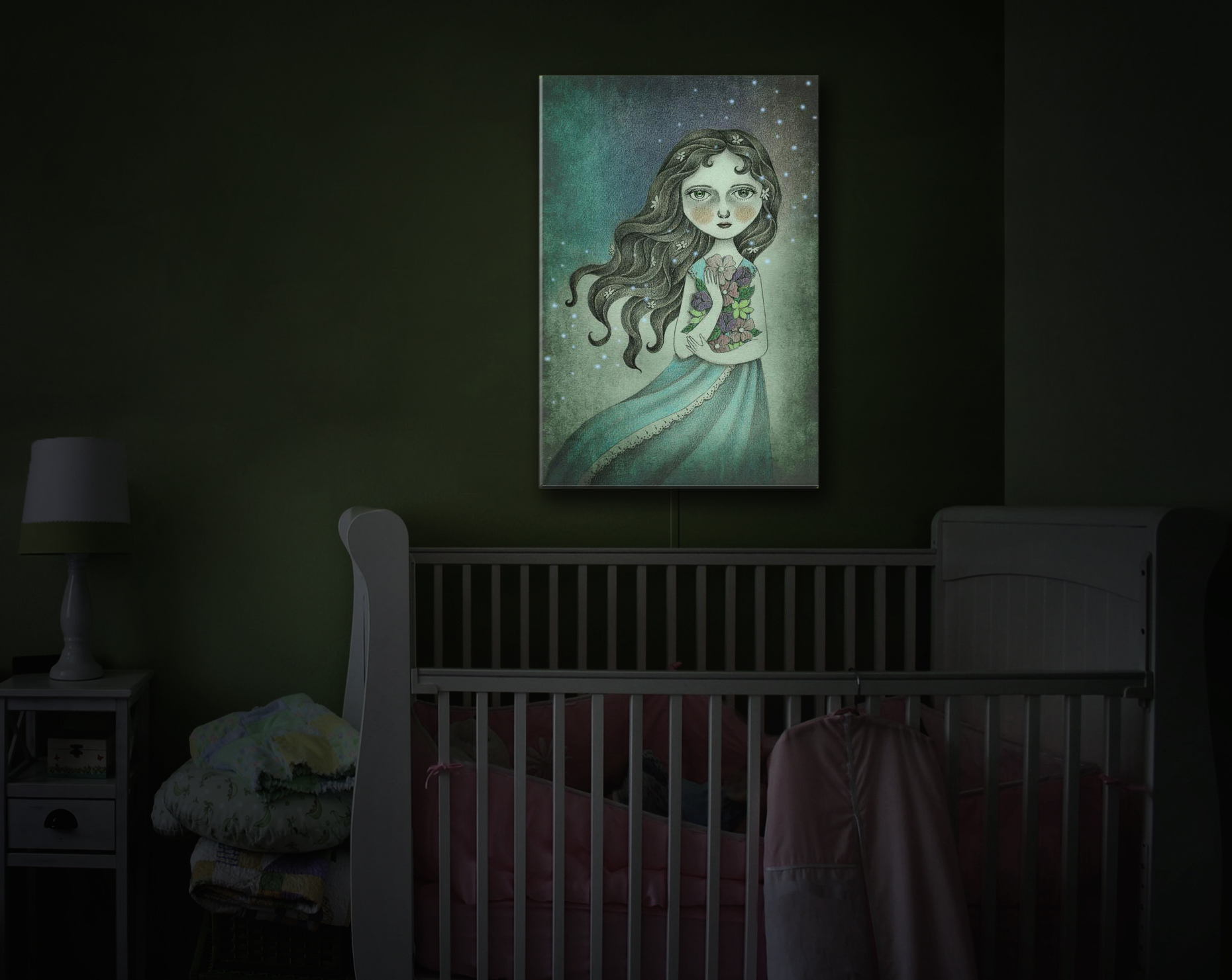 Illuminated Art featured on Houzz