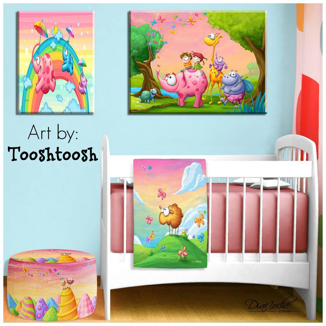 DiaNoche Designs Featured Artist: Tooshtoosh