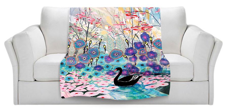 TheBlack Swan Blanket