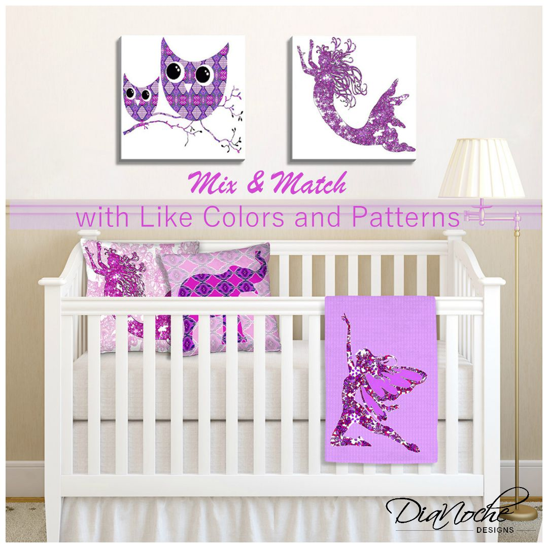 Mix n' Match Your Nursery with Like Colors and Patterns
