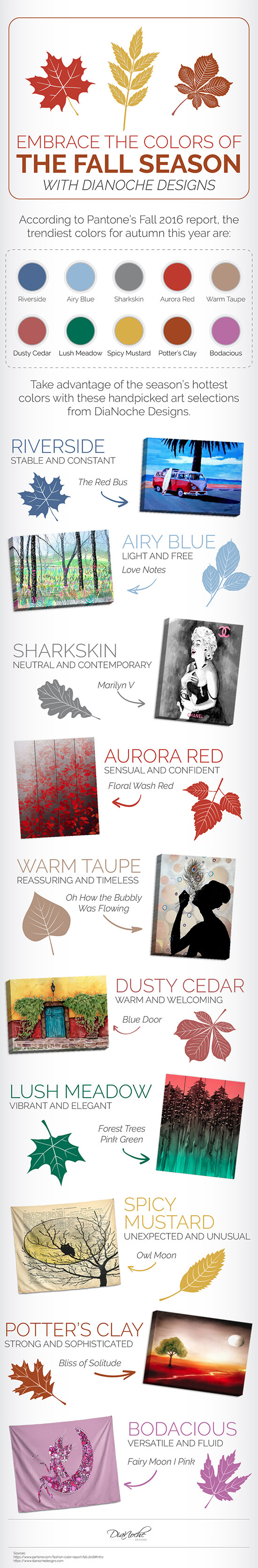 colors to integrate into your home in fall