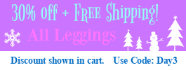 Leggings 30% and Free shipping