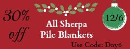 Day 6 Sherpa Blankets