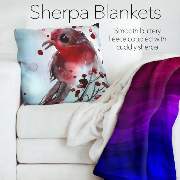 Sherpa Pile Blankets